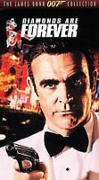 Diamonds Are Forever (VHS Movie) James Bond 007, Sean Connery