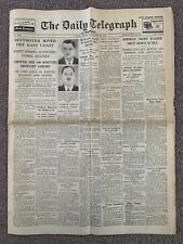 ORIGINAL DAILY TELEGRAPH NEWSPAPER NOVEMBER 23 1939