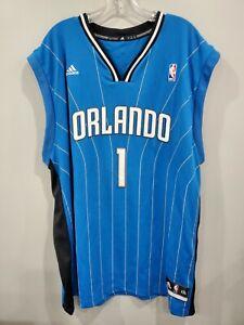 Super Rare Adidas NBA Orlando Magic Gilbert Arenas 1 Jersey Mens 2XL Agent Zero