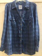 Style & Co Woman Blue Blouse  Plus 2X. —A2