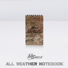 """AA Shield All Weather  3""""X5"""" Note Book Camo Waterproof Outdoor Map Tactical Note"""