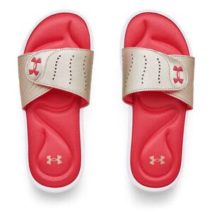 Under Armour 3022717 Women's UA Ignite IX Slides Athletic Sandals Flip Flop Foam