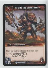 2012 World of Warcraft TCG: Crown Heavens #118 Soulde the Earthshaker Card 1i3
