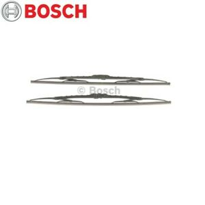 Fits Jaguar XK Jeep Grand Cherokee Windshield Wiper Blade Set Bosch 3397118401