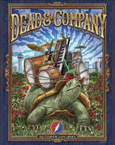 2021 Dead and Company Dallas Poster
