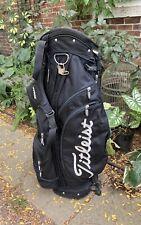 Titleist 6 Way Divider Golf Carry Cart Bag Black White