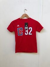 Los Angeles Clippers adidas Women's NBA Griffin 32 T-Shirt - 8 - Red - New