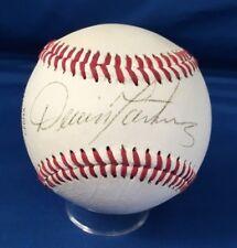 Dennis Martinez Autographed Baseball Baltimore Orioles Players Edge Ball JSA