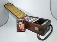 VINTAGE ELVIS PRESLEY CASSETTE TAPES WITH CARRYING CASE