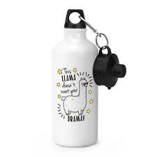 dieses Lama wird nicht dein Drama Sport Getränkeflasche Zelten - lustiger witz