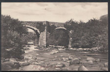 Devon Postcard - New Bridge, River Dart  RS6625