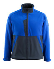 Mascot Finley softshell size 4XL blue, NEW & measured 15702-253-11010