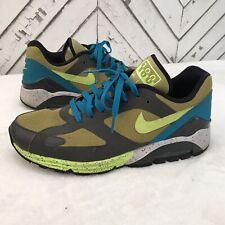Nike Air 180 Terra Oliva Para Hombre Zapatillas Zapatos Reino Unido 8 EUR 42.5 Genuino colorway