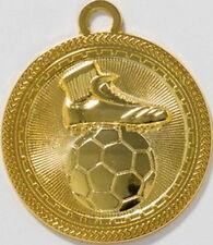 10 Fußball-Medaillen mit Deutschland-Bändern (9238g)