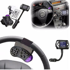 Steering Wheel Remote Control Bluetooth LCD FM Transmitter MP3 Player Car Kit