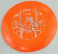 NEW VIP King 174g Driver Westside Discs Orange Golf Disc at Celestial