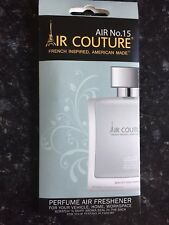 AIR COUTURE 15 INSPIRED BY AZZARRO CHROME DESIGNER FRAGRANCE HANGER FOR CAR/HOME