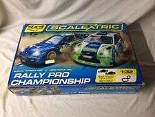 Scalextric Rally Pro Championship #G1190 (incomplete)