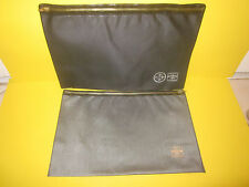 Bethlehem Steel 2 X Storage Plastic Pouch Lot Set Rare