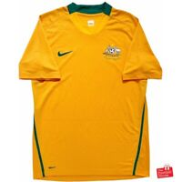 Authentic Nike Australia Socceroos 2008-10 Home Jersey. Size M, Fair Condition.