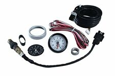 AEM 30-5130 Analog Wideband Air/Fuel Ratio Gauge with Black and White Face