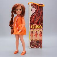 Vintage 1969 Ideal Beautiful Crissy Doll Hair Grows Box Shoes Mini Skirt 1051-2