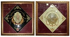 Large Pre Wwi German Parade Banners #2861