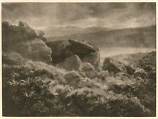 Camera Work Gravure Rain From the Hills AH Hinton 1905