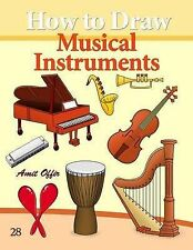 How to Draw Musical Instruments: Drawing Books for Beginners (How to Draw Comics