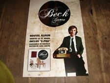 BECK GUERO!!!!!!!!!!!!!!!!!!RARE FRENCH PRES/KIT/POSTER