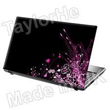 "15,6 ""Laptop piel cubierta Sticker Decal Pretty Pink 279"