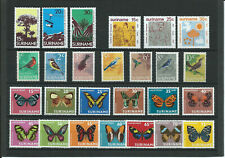 Suriname (K 47) kleines Lot postfrisch** - Vögel - Schmetterlinge
