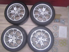 4x RH Alufelgen 17 Zoll für Mercedes W211 E-Klasse + Sommerreifen 235/45 R17 NEU