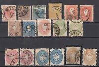 BS6818/ ITALY – LOMBARDY VENETIA – 1850 / 1864 USED CLASIC LOT – CV 680 $
