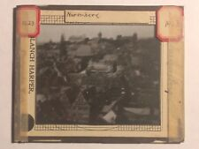 Lot of 2 Glass Slides by Blanchard Harper  - Scenes From Germany - Early 1900