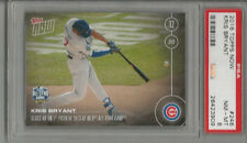 2016 Topps Now Kris Bryant  PSA 8 First Pitch He Sees HR - All-Star Game