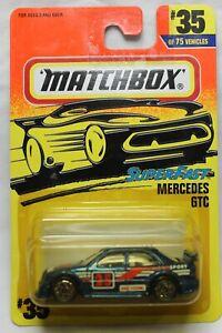 Matchbox 1:64 Scale 1997 Superfast Series MERCEDES GTC (BLUE #25)