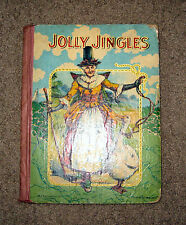 "Antique ""Jolly Jingles From Mother Goose"" ** M A Donohue No. 170. Book"