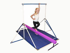 Horizontal Bar - Gymnastics Mat - Purple Balance Beam combo