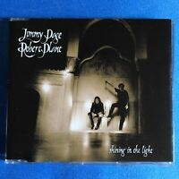 Jimmy Page Robert Plant SHINING IN THE LIGHT promo CD single Uk Led Zeppelin