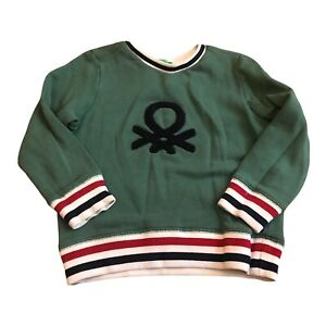 United Colors Of Benetton Boys Pullover Sweater Jumper  Size XXS 3-4 Years