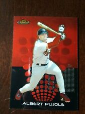 Albert Pujols Topps Finest 2004 Card #100 MINT 662 and Counting