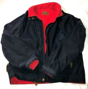 Vintage Pendleton Jacket Varsity Blue Coat flannel lined - RETRO - SIZE SMALL