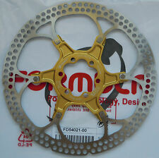 "Formula - One disk rotor 180mm/7"" model 2-piece GOLD spider 6 holes FD54021-00"