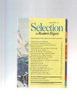 selection du reader's digest  fevrier 1972