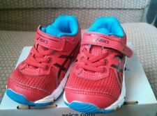 Asics Infant Baby Toddler Round Toe Synthetic Red Running Tennis Shoe Size 4