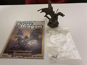 AD&D  /D&D /Advanced Dungeons & Dragons Ral Partha 10-503 Huma´s Silver Dragon