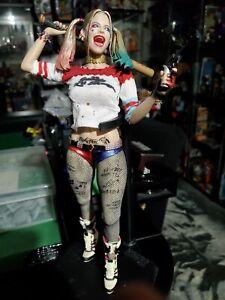 "Crazy Toys Suicide Squad Harley Quinn Joker 1/6 12"" PVC Figure Figurine Statue"