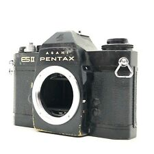 【FOR PARTS】Pentax ESII ES2 Black 35mm SLR Film Camera Body From Japan #401
