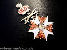 Preußen Roter Adlerorden Großkreuz Eichenlaub Krone Schwerter am Ring Replik